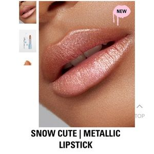 Kylie Cosmetics snow cute lipstick